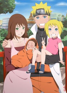 Commissioned by: , the Continuation of this image: Her OC Akiko and Naruto with their Kids: Hikari and son Taichi. My other Naruto and OC akiko commish:. Commission - Naruto and Akiko Family Naruto And Sasuke, Naruto Uzumaki, Boruto, Tsunade And Jiraiya, Naruto Anime, Narusaku, Anime Oc, Shikamaru, Anime Kawaii
