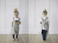 Japanese style aprons for kids!