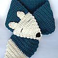Suite à plusieurs demandes, voici le modèle d'écharpe renard au crochet pour enfant et surtout les explications ! De quoi faire un joli...