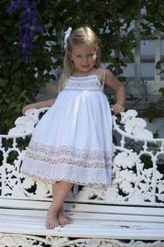 How to Sew A Fancy Band FANCY THAT! Fancy bands embellish dress hems and can be used to extend the wear of an out-gr. Baby Girl Dresses Fancy, Little Girl Dresses, Baby Dress, Girls Dresses, Little Girl Fashion, Kids Fashion, Toddler Outfits, Kids Outfits, Smocks