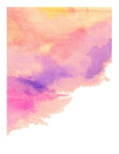 Pink Abstract Painting Print Bright Art Print by LikeWilliamStudio