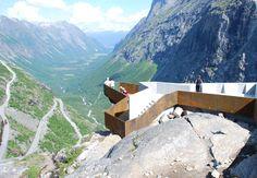 National Tourist Route Trollstigen | Reiulf Ramstad Architects http://www.arch2o.com/national-tourist-route-trollstigen-reiulf-ramstad-architects/