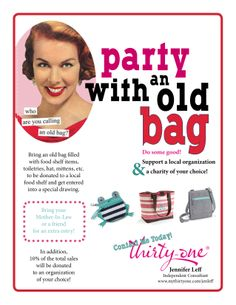 A new take on an old bag party.