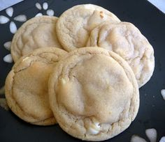 Almond cheesecake pudding cookies...these are great! I love this website and all of her cookies!