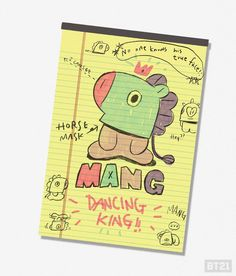 171023 While dancing, #MANG is cooler than ever. Always wears the mask. #heartshapenose #mask #chatter #BT21 #UNIVERSTAR #CreatedbyBTS