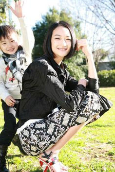 I Love Ai Tominaga.. and her son is so cute!