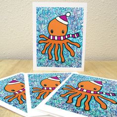 I LOVED my holiday octopus cards - EarthToGirl is the best!