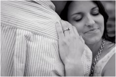 Plum Pretty Photography | Pearl Street Engagement Photos | Boulder Wedding Photographer | Urban Engagement Photos | Colorado Engagement Photos | Black & White | Ring Shot
