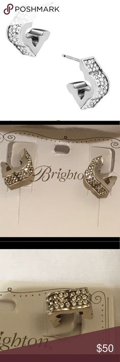 Brighton Toledo Earrings Have A Lot Of Sparkle With Swarovski Crystals