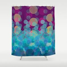 Bubble Dream Shower Curtain by Michelle Nilson - $68.00
