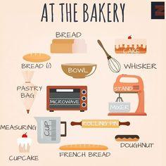 Vocabulary: At the Bakery