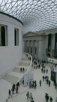 The British Museum. There are a lot of things I want to see here someday...