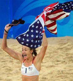 Beach Volleyball! #Olympics #TeamUSA