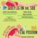 Healthiest Sleeping Positions Infographic