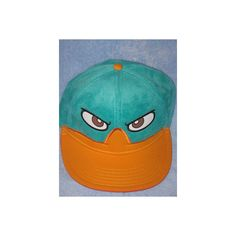 *pHiNeAs AnD fErB PeRRy aGeNt P DiSnEy XD New OSFM SNAPBACK Men's... via Polyvore