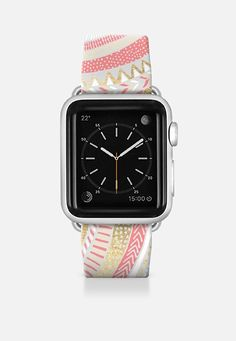 Gold + Coral Tribal Watch Strap Apple Watch Band (42mm) by Tangerine- Tane | Casetify