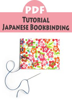 This is a listing for a digital PDF with instructions for Japanese Bookbinding. With these illustrated step-by-step instructions you can make four booklets with different Japanese bindings ! #Ad