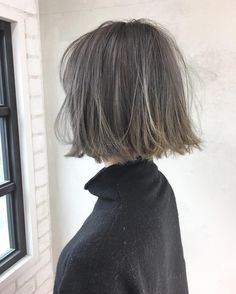 ash bob haircut inspiration (pinterest @softcoffee)