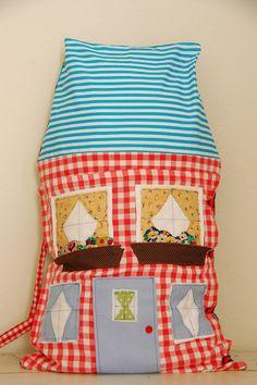 the medium-sized dollhouse pillow