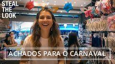 Achados para o carnaval na Rua 25 de março | Steal The Look