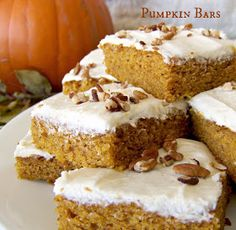 Sous Chefs: Frosted Pumpkin Bars