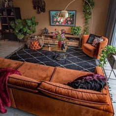 New Stylish Bohemian Home Decor and Design Ideas. White walls tho 2019 New Stylish Bohemian Home Decor and Design Ideas. White walls tho The post New Stylish Bohemian Home Decor and Design Ideas. White walls tho 2019 appeared first on Sofa ideas. Orange Couch, Warm Home Decor, Hippie Home Decor, Orange Home Decor, Burnt Orange Decor, Brown Home Decor, Orange Interior, Home Living Room, Living Room Designs