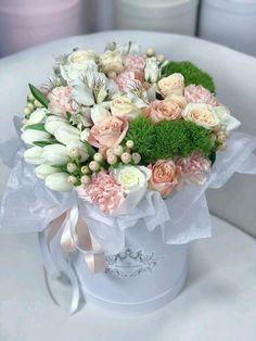 Beautiful Bouquet Of Flowers, Unusual Flowers, Beautiful Flower Arrangements, Pastel Flowers, Simple Flowers, Amazing Flowers, Floral Arrangements, Beautiful Flowers, Wedding Flowers