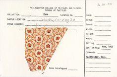 Polka dot print on cotton. Manchester, England. Feb. 1901.