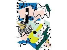 COLORFUL ART PRINT A4 04