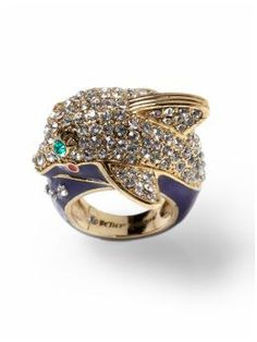 I have this and two of the matching earrings.  Betsey Johnson + Tri Delta = PERFECTION.