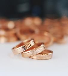 Double-Sided Wheat Penny Midi Ring