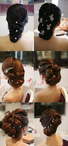 Braided hair bride