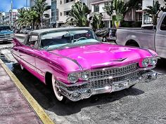 Bling Pink Cadillac...Really, I mean, this is perfect.