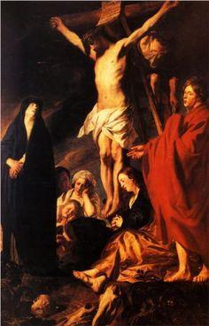 Christ on a Cross - Jacob Jordaens