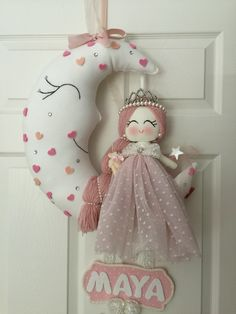 Door doll of Maya's room
