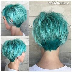 20 Nice Hair Color for Short Hair - 4 #ShortBobs