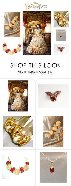 """Belle"" by kateduvall ❤ liked on Polyvore featuring Disney and vintage"