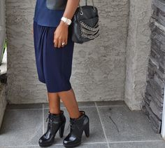 Navy #fashionblogger