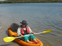 Kayaking at Maroochydore November 2013