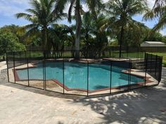 Winter Springs Florida - Does your swimming pool have steps? No problem we can custom install pool fence to fit your pool design. #PoolFence #PoolSafety #BabyBarrier