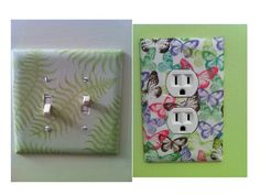 Switch plates for Guest Room and Bathroom.