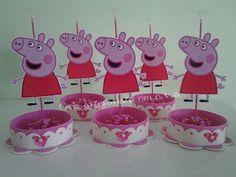 Centro de mesa peppa Pig