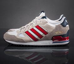 adidas Originals ZX 750-Running White-Bliss-Vivid Red #sneakers #kicks
