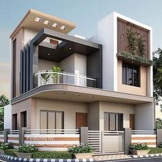 """Amazing Architecture on Instagram: """"Yes or no? #architecture #architecturelovers #architectureporn #architects #house #home #backyard #luxurylife #archilovers #archiporn…"""" House Roof Design, 2 Storey House Design, House Outside Design, Bungalow House Design, Small House Design, Facade House, Modern Exterior House Designs, Modern House Design, Model House Plan"""