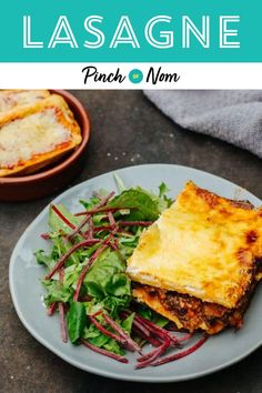 Lasagne is one of the most loved dishes out there, and this version is a perfect recipe for people counting calories or following a specific diet plan. #lasagne #maindish