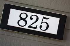 Distressed Wood House Number Sign  Address by BeneathTheBarkAt825, $25.00