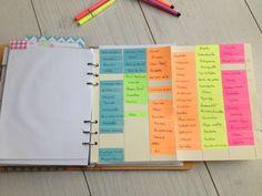 Un peu d'organisation. Organization Bullet Journal, More Than Words, Filofax, Bujo, Budgeting, Teaching, How To Plan, Organiser, Diy