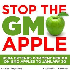 Urgent! Comment period ends on 1/30! Don't let your voice go unheard! Take action here: https://www.facebook.com/FoodDemocracyNow
