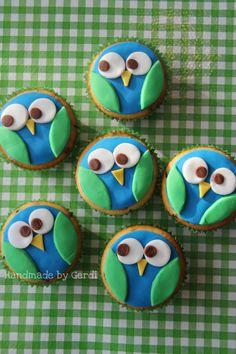 Cupcakes uiltjes