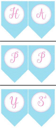 Happy Birthday Princess Banner {FREEBIE} - Cinderella